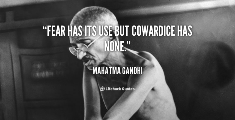 Image result for Cowardice